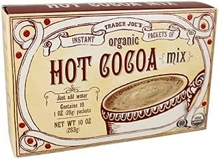 Trader Joe's Organic Hot Cocoa Mix 10 OZ (pack of 1)
