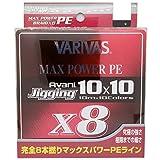 VARIVAS(バリバス) PEライン アバニ ジギング10×10 マックスパワーPE X8 300m 1.5号 28.6lb 8本 10色