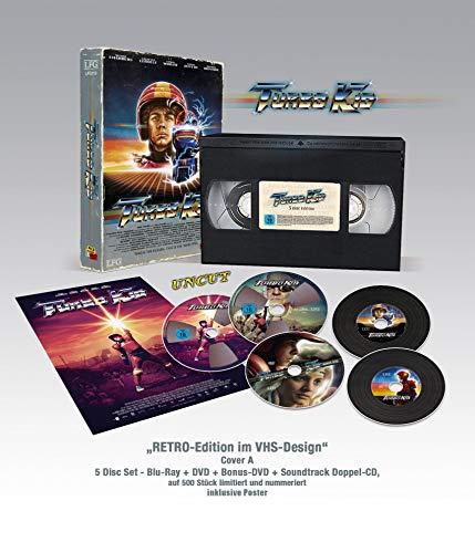Turbo Kid - VHS RETRO-Edition (Bluray + DVD + Bonus-DVD + Doppel Soundtrack-CD) Limitiert / Nummeriert auf 500 Stück (Cover A) [Blu-ray]
