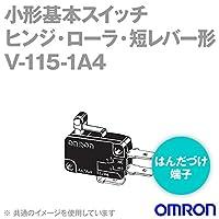 オムロン(OMRON) V-115-1A4 形V小形基本スイッチ (ヒンジ・ローラ・短レバー形) NN