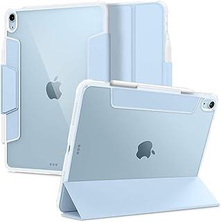 Spigen Ultra Hybrid Pro Ontworpen voor iPad Air 4 10.9 Case met potloodhouder (2020) - Hemelsblauw