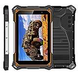 HIDON Tablette PC Robuste avec Tablette 10000mah étanche/Dualband WiFi/GPS/Glonass 8 Pouces Octa Core IP68