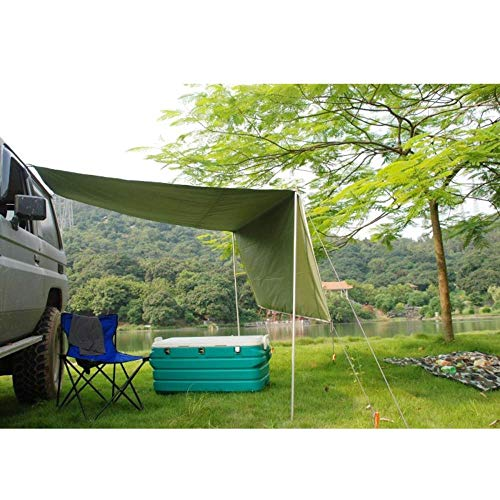 STIN 2.8 X 1.8m Sunshade,Car Roof Tent,Campervan Awning,For Outdoor Camping Tent Wear-Resistant Anti-Uv Vehicle Sun Canopy Rain Canopy