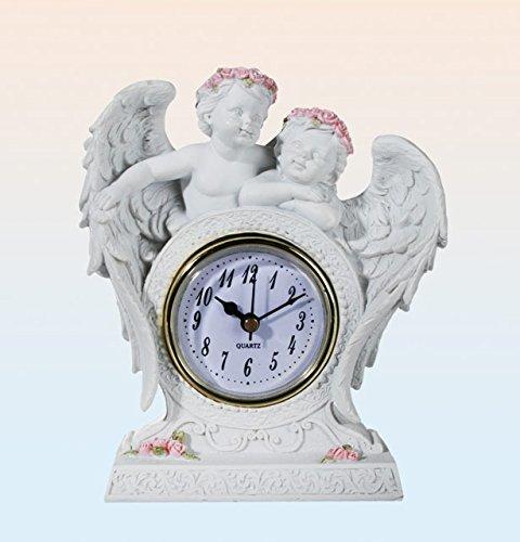 Générique Horloge Pendule à Poser - de Table - Figurine Statuette Ange
