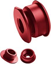 DEWHEL Red JDM Aluminum Manual Shift Cable Bushings Performance Upgrade For Ford FOCUS ST & RS 2013-Present 6 Speed Manual Transmissions