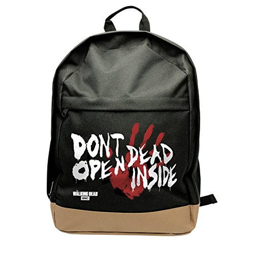 ABYstyle - THE WALKING DEAD - Rucksack - Dead Inside - Schwarz (14 x 38 x 31 cm)