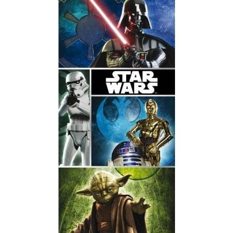 Star Wars - Toalla Playa Star Wars 70 x 140 cm.