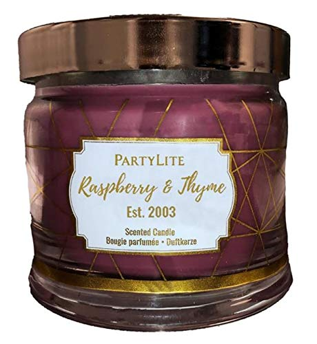 Unbekannt Partylite Duftwachsglas 3 Docht - Himbeer-Thymian - Produktbeschreibung Siehe unten