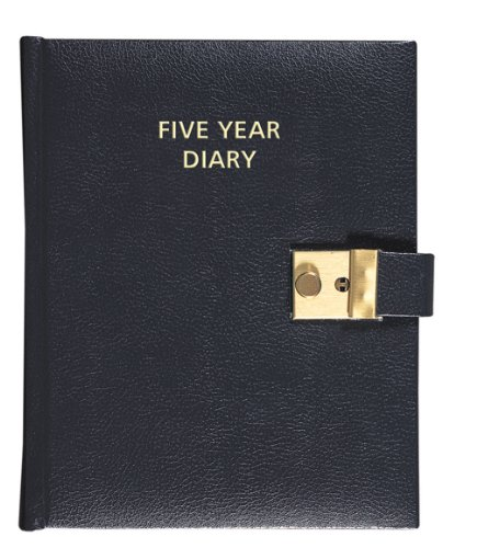 Collins Five Year Diary - Black