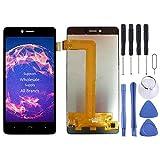 ASAMOAH Pieza de reemplazo del teléfono Celular Pantalla LCD y ensamblaje Completo del digitalizador for BQ Aquaris U/U Lite/U Plus Accesorios telefonicos (Color : Black)