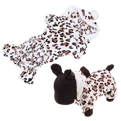 Geschenk voor april Hond Nachtkleding, Comfortabele Kat Nachtkleding, Veilig Zacht voor Hond Puppy(XL)