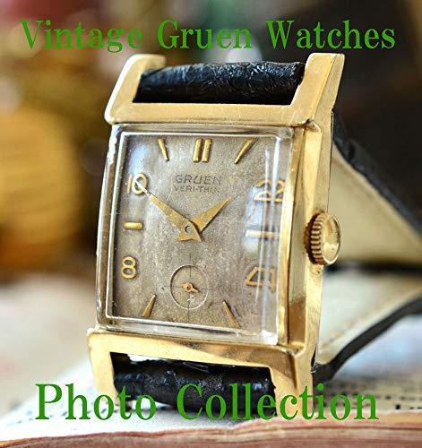 Gruen Vintage Antique Watches Photo Collection