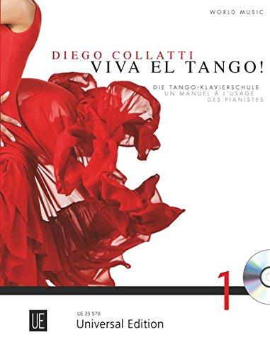 Viva el Tango! mit CD für Klavier mit CD deutsch-französische Version: Die Tango-Klavierschule: Die Tango-Klavierschule. Band 1. für Klavier mit CD ... Version erhältlich UE 36000). Ausgabe mit CD.