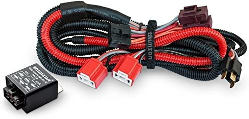 Thimson Heavy Duty Headlamp Wiring Kit. (100/90W or 130/100W)