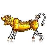 Drearing Tiger Liquor Whiskey Decanter - 1000ml Decantadores de vino Whisky Jarrafe para Bourbon Whisky Scotch Rum