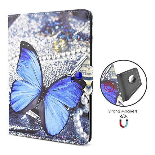 KATUMO Hülle für Universal Tablet 10 Zoll Schutzhülle für TOSCIDO 4G/Dragon Touch/CHUWI Hi10 X/Winnovo T10/TECLAST/ACEPAD A121/Lnmbbs 10.1, Hülle für 9-10.1 Zoll Tablet