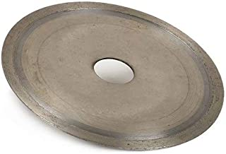 4.5 Inch 110mm Sintered Super Thin Diamond Saw Blade Continuous Rim Cutting Disc for Cutting Jewlery Lapidary Glass with 4/5