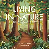 Living in Nature Wall Calendar 2021: A Year to Reflect and Recharge