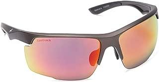 UV Protected Sport Men's Sunglasses - (NBP385RD4|72|Black Color Lens)