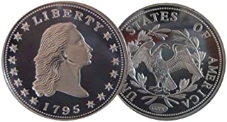 1794 or 1795 Flowing Hair Silver Dollar Replica