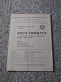 Prg. Neun Trümpfe um die Preise der volkseigenen Fahrradwerke Diamant - Mifa - Möwe - 23. November 1960