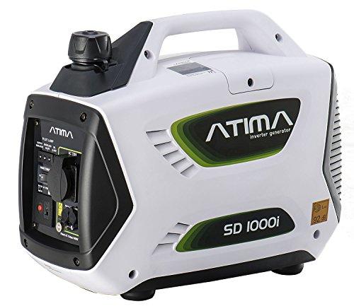 Atima Inverter Groupe électrogène Générateur Onduleur Portable Silencieux à Essence 1000W...