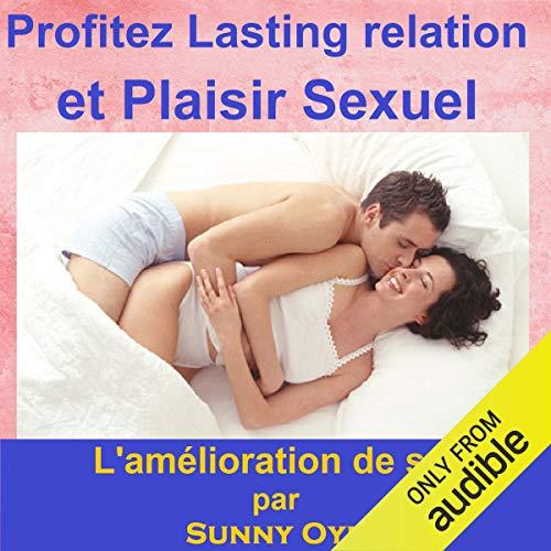 Profitez relation durable et le plaisir sexuel audiobook cover art
