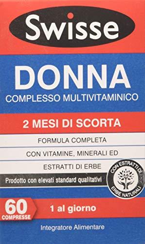 Swisse Swi0200016/2 Donna Complesso Multivitaminico - 60 Compresse