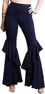 kasonj Ruffle-Partyhose für Damen
