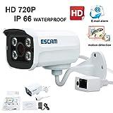 'Escam ladrillo qd300HD720p IP de red impermeable hogar seguridad BULLET cámara de vigilancia 3,6mm lente 15m apoyo de corte IR día/noche