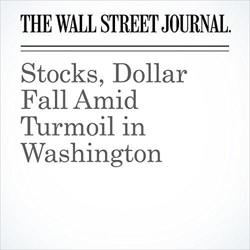 Stocks, Dollar Fall Amid Turmoil in Washington copertina