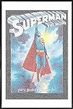 JUNIQE® Superman Filme Poster im Kunststoffrahmen 40x60cm