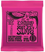 ERNIE BALL 2623 7-String Super Slinky 7弦エレキギター弦×3セット