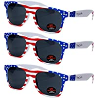 3-Pack Ray Solee Tinted Lenses Sunglasses with UVA & UVB Protection