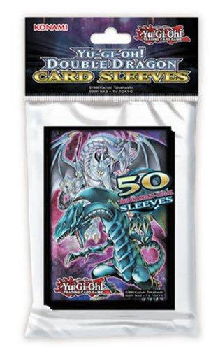 遊戯王 英語版 カードスリーブ ダブルドラゴン 50枚入り パック