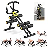 MBB 12 in 1 Home Gym Equipment,Ab Machine,Height Adjustable Ab Trainer,Whole Body Workout Machine,Thighs,Buttocks Shaper,Abdominal,Leg and Arm Exercises