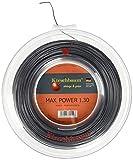 Kirschbaum Saitenrolle Max Power, Anthrazit, 1,30 x 200m, 0105260218100016