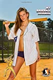 MY BASEBALL JOURNAL LINED NOTEBOOK: 6x9 inch daily bullet notes on college style lines with beautiful sexy girl baseball bat cover nice gift idea