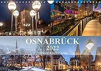 Stadtportrait Osnabrueck (Wandkalender 2022 DIN A4 quer): Eindrucksvolle Fotografien von Osnabrueck (Monatskalender, 14 Seiten )