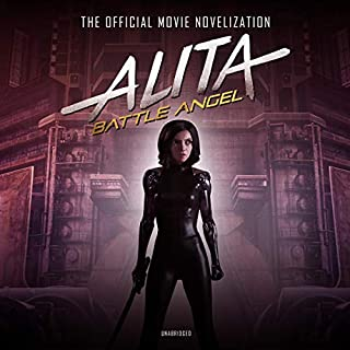 Alita: Battle Angel audiobook cover art