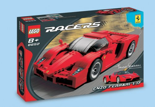 Lego Racers  8652 - Enzo Ferrari 1:17