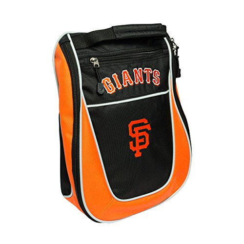 Team Golf MLB San Francisco Giants Travel Golf Shoe Bag, Reduce Smells, Extra Pocket for Storage, Carry Handle