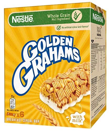 Barritas Nestlé Golden Grahams - 1 paquete de 6 barritas