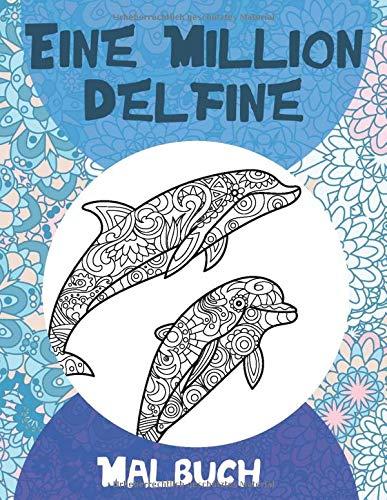 Eine Million Delfine - Malbuch 🐬