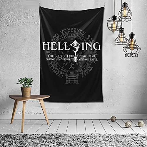 Hellsing Seras Victoria - Póster largo de pared para decoración del hogar, funda de teléfono más de 152,4 x 101,6 cm