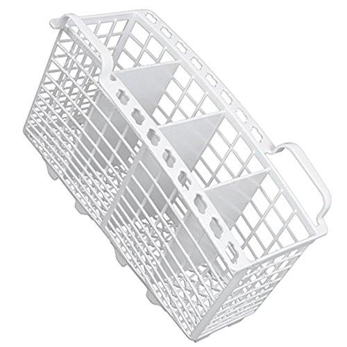 Ariston LS2450UK Besteckkorb für Geschirrspüler, schmal, 230 x 110 x 135 mm, Weiß