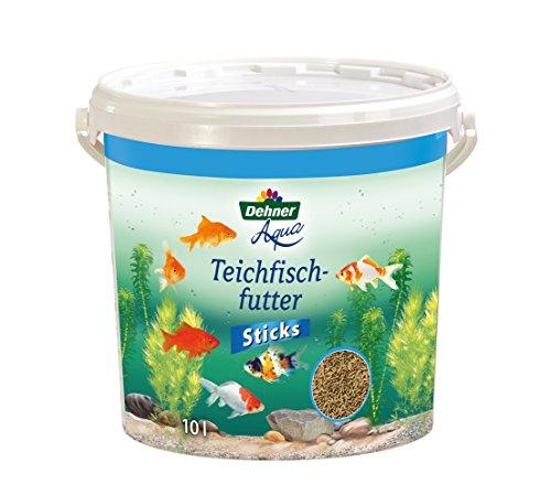 Dehner Aqua Teichfischfutter Sticks, 10 l