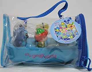 Disney Theme Parks Exclusive Limited Availability - 5 Piece Disney Characters It's A Small World Boat Bathtub Set by Disney Theme Park Merchandise