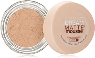 Maybelline Dream Matte Mousse - 0.64 oz, Porcelain Ivory Light 1