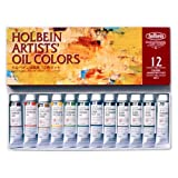 ホルベイン 油絵具 12色セット H911 10ml(4号) 000911